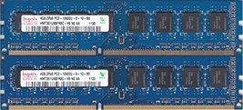 8GB kit, (2 x 4GB) 240-pin DIMM, DDR3 PC3-10600U,Dual Rank, Non ECC ram Memory M