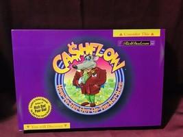Rich Dad Poor Dad Robert Kiyosaki Cashflow 101 Board Game + Rare Calcula... - $198.00