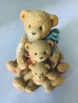 Cherished Teddies 1991 Friends Come in all Sizes 950505 Figurine Home Decor - $9.49