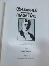 Harry Houdini Conjurers' Monthly Magazine Lim Ed Boxed Set Vol 1 and 2 Hardcover image 6