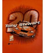 Nascar T Shirt Mens Sz XL Tony Stewart 20 Cotton 2003 Monte Carlo Racing... - $14.83