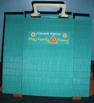 Vtg. Fisher Price Play Family #990 A-Frame Comp. w/Wooden LP & Ladder/NR MT! (M) image 3