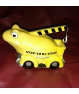 """Fanciful Frogs """"Toad-Truck"""" 11907 Westland Giftware - Porcelain Tow Truc... - $24.97"""