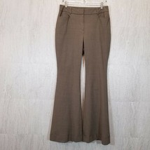 Express Design Studio Womens Dress Pants 10 (32 Inseam) Brown Stretch Sl... - $26.10