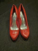 "Women's Qupid Shoes Size 8.5 Pink 4"" Stilettos Peek Toe High Heels Pumps - $17.99"
