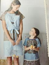 Simplicity Sewing Pattern 8087 Misses Childs Pullover Dress Top Size 3-8 XS-XL image 3