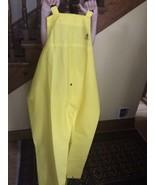 New Tingley Flame Resistant Rain Bib Overall, Yellow, PVC, Men's 2XL - $19.00