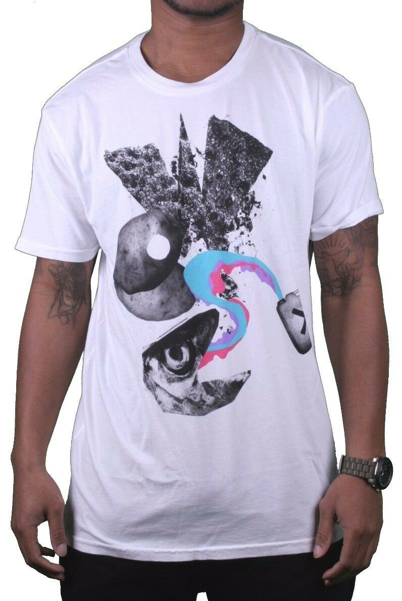 Wesc Mens We Are Superlative Conspiracy White Swedish Dittan Och Dattan T-Shirt