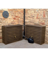 NEW Woody 92 Gallon Rain Barrel, 2-pack ***FREE SHIPPING*** - $1,499.99
