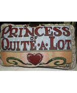 "Mary Engelbreit ""The Princess of Quite A Lot"" T... - $25.00"