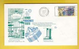 VENUS PARACHUTE TESTS KENNEDY SPACE CENTER JUNE 5 1975 TRIPLE CANCEL - $2.98
