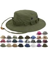 Tactical Boonie Hat Military Camo Bucket Wide Brim Sun Fishing Bush Boon... - $12.99