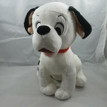 "Disney Store 101 Dalmations Movie  14"" Plush Dog Red Collar FREE SHIPPING - $17.72"