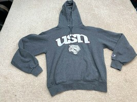 Champion University Of Nashville Long Sleeve Sweatshirt Men's Size Small Gray - $14.30