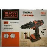 Black & Decker - BDCDMT120C - MATRIX 20V MAX Lithium Drill/Driver - $89.05