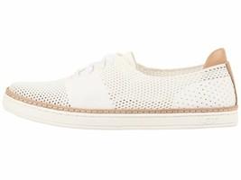 UGG Pinkett  White Women's Lace Up Hyper Weave Casual Sneakers 1016754 - $95.95