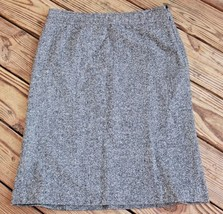 Gap Size 8 Wool Blend Lined Skirt A-Line Gray Classic Career Office Skirt (BJ) - $8.07