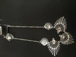 Paparazzi Necklace Set Short (new) Miss YOU - niverse Silver Blockbuster - 40 - $6.37