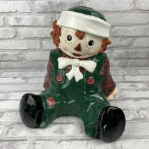 Sakura Raggedy Andy Cookie Jar 10.5 Inches 1998 Hand Painted - $74.21