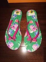 NWB Kate Spade Summer Nadine Spring Blooms Print Flip-Flops Sz 9 - $49.99