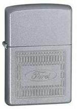 Retired 2005 Engraved Ford Zippo Lighter  - $37.95