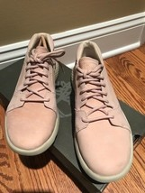 Timberland Flyroam Oxford Light Pink Womens Lace Up Soft Leather Shoes R... - $90.99