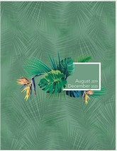 DateWorks Urban Tropical 2019-2020 Monthly Planner 8.5'' x .09'' x 11.25... - $13.99