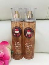 2 BATH & BODY WORKS HOT COCOA & CREAM FINE FRAGRANCE MIST BODY SPRAY 8 F... - $24.65