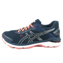 Asics GT 2000 7 Running Shoes Womens Sz 10.5 Athletic Training Sneaker Blue Pink - $108.56 CAD