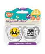 Emoji Pacifiers - Unisex - Crying Emoji & I Really Don't Want to Sleep -... - $12.99