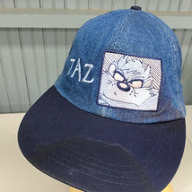 TAZ Looney Tunes Denim Strapback Baseball Cap Hat - $12.57