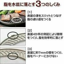 "IWATANI CB-SLG-1 Smokeless Korean Barbecue Grill ""YAKIMARU"" Worldwide - $123.68"