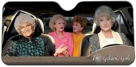 Golden Girls Windshield Sun Shade Visor - Pop Culture Novelty Car Accessory - $37.61