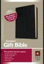 Nlt new living translation compact gift bible black bonded leather thumb200