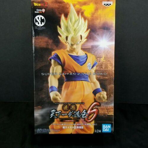 Bandai Son Goku Super Saiyan 2 Dragon Ball Z Banpresto Statue Gamestop Exclusive - $24.74