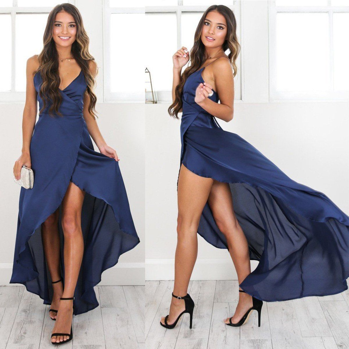 10 1. 10 1. Previous. Women Formal Long Ball Gown Party Prom Cocktail  Wedding Bridesmaid Evening Dress 8a8537da1