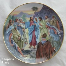 Franklin Mint COME FOLLOW ME Plate Heirloom Collection Jesus Disciples T... - $19.00