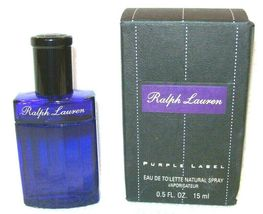 Ralph Lauren PURPLE LABEL Men's Cologne Eau De Toilette Spray 0.05FL OZ ... - $93.05