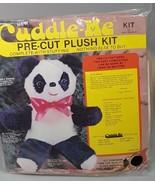 Panda Bear stuffed animal craft kit Douglas DIY stuffed plush animal bab... - $43.20