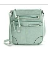 Normandy Crossbody Bag Purse Mint Green Chateau International Medium Size - $23.75