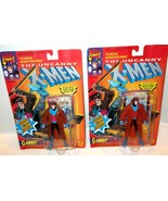 ✰ Marvel X-Men (Toybiz 1992) GAMBIT (4937) MOC w/ Trading Card NICE!! c8... - $24.99
