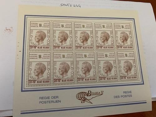 Belgium Belgica72 m/s mnh 1972 #9  stamps - $9.95