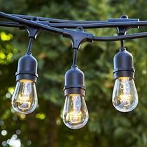 Bioluz LED Outdoor String Lights, 49Ft LED Weatherproof Connectable Stri... - €51,52 EUR