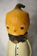 Bethany Lowe Pumpkin Head Figure Halloween image 3