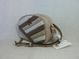 NWT Tory Burch Color Block Kira Chevron Small Camera Bag $398 image 2