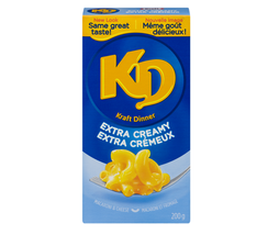 Kraft Dinner Extra Creamy KD 200g/7oz Macaroni And Cheese Pasta Canada - $10.39