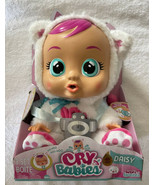Cry Babies Baby Daisy Doll New Magic Tears Realistic Baby Sounds New Cat... - $31.99
