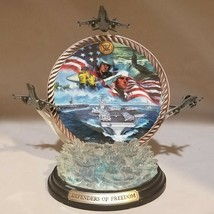 Defenders of Freedom plate Dennis lyall  a nation's pride Bradford Exchange - $39.60