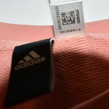 Adidas Athletics Women's Peach Pink Pullover Sweatshirt Size S A2B010 image 4