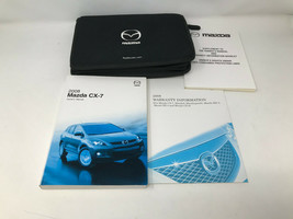 2008 Mazda CX7 CX-7 Owners Manual Handbook Set with Case OEM Z0A1153 - $31.67